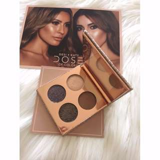 DESI x KATY Collection THE GIRLS Eyeshadow Palette Dose of Colors