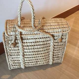 Waved Basket from Philippines
