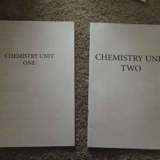 Chemistry Unit 1&2 Notes
