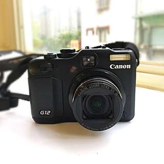 Canon g12類單眼相機