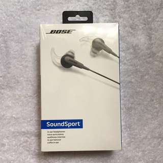 BOSE soundsport in ear headphone