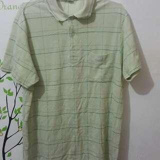 Crocodile Lime Green Polo Shirt