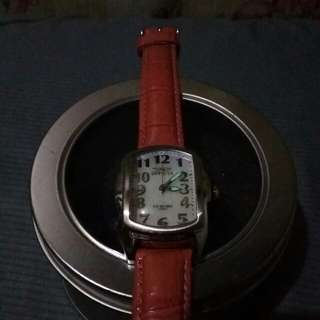 Invicta Lupah Lady 200meters Leather strap Watch