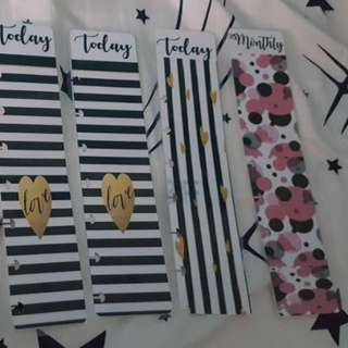 """Looking For Happy Planner Vertical Tabs / Dividers / Bookmarks / Dashboard """"Today / Tomorrow / Important / Monthly"""""""
