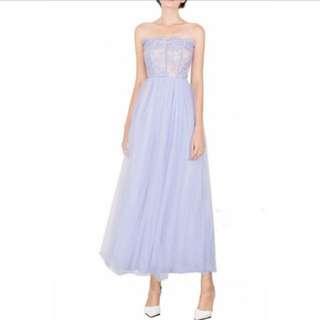 Doublewoot lilac long dress L size