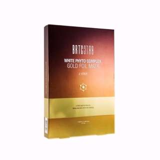 [INSTOCKS] White Phyto Complex Gold Foil 2 STEP Mask [5 sheets]