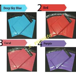 Matte Coloured Polymailers