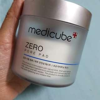 Medicube Zero Pore Pad 去角質收毛孔保濕爽膚棉3盒全新