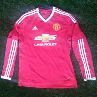 Authentic Manchester United Jersey long sleeve 2016/17