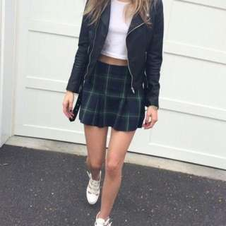 Plaid Skirt (Brandy Melville Dupe)
