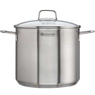 Schulte-Ufer Professional 24cm 9.0L Stockpot with Lid