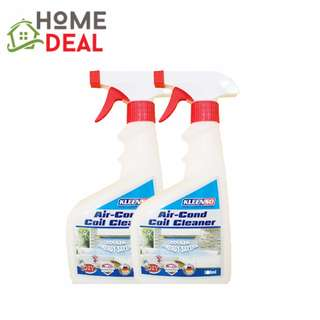 KLEENSO AIR-COND COIL CLEANER 500ML TWIN PACK