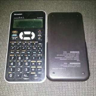 Sharp scientific calculator