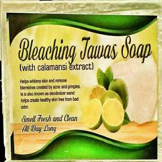 Bleaching Tawas Soap With Calamansi
