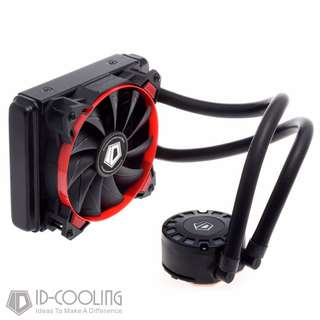 ID-COOLING New design CPU AIO , 120mm radiator, 12cm fan