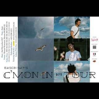 Eason says C'mon in ~ Tour Kuala Lumpur (Category 3)
