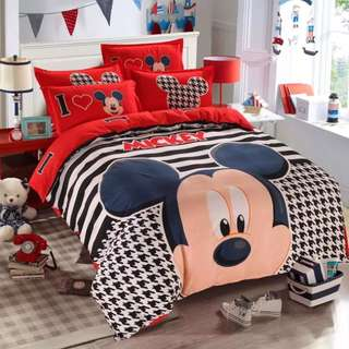 Mickey Mouse Bedsheet Set 2