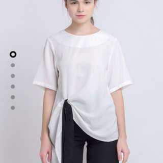 Olin's Closet Offwhite Harlow Top