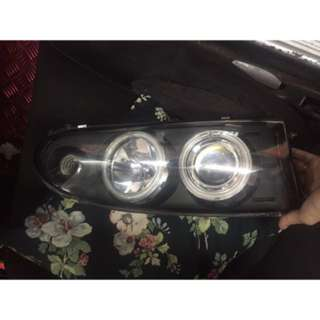 Right headlights Putra -wira -Satria good condition like new 9/10 high low lights including