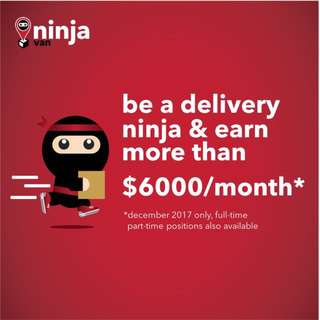 Earn more than $6000 per month delivering parcels today!