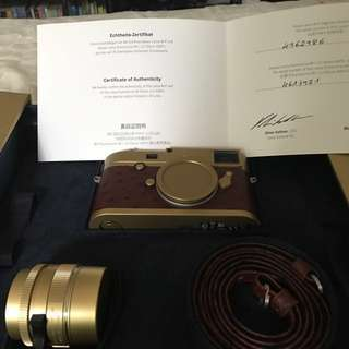 """Exclusive Leica M-P """"Brass Edition 35"""""""