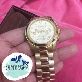 RUSH REPRICED!!! Limited edition MK WATCH MK5662