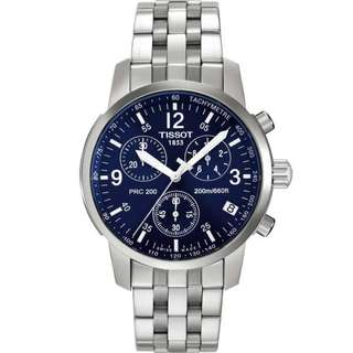 Tissot T-Sport PRC200 Blue Sports Stainless Steel T17.1.586.42