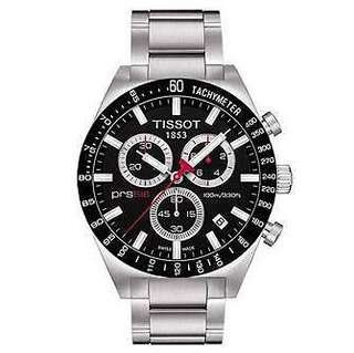 Tissot Gents PRS516 Black Chronograph Sports Watch T044.417.21.05