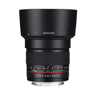 Samyang 85mm f1.4 AS IF UMC Lens (Canon, Fujifim, Nikon AE and Sony E Mount)