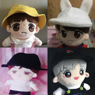 d86a6e5cee5 (PO) BTS   EXO Doll Hats   Caps 15 20cm