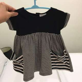 Next baby girls dress really cute 0-3m like new fixed price exc postage