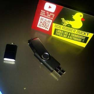 USB Rubber Ducky Hack Tool