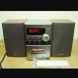 Sony Mirco Hifi System ( HCD-NEZ33)