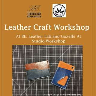 Leather Craft Workshop Year-End Promotion