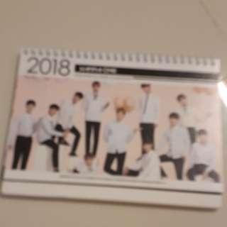 Wanna One 2018 & 2019 calendar