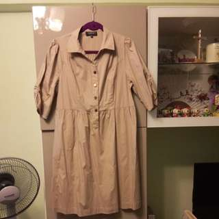 Women's  Brown Dress Size XXXL
