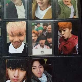 BTS hyyh pt 2 photocard