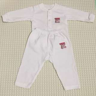 Tenderly Baby long sleeve shirt and long pants (0-3 mo)