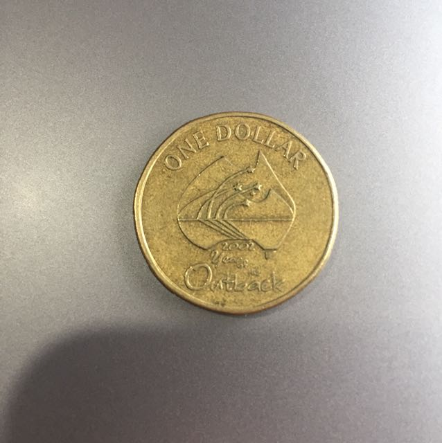 2002 year of the outback $1 coin