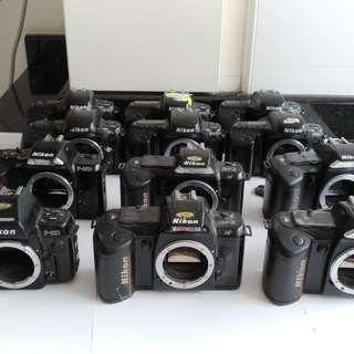 Camera #19~Nikon Spoilt film cameras...manual focus...F50 etc