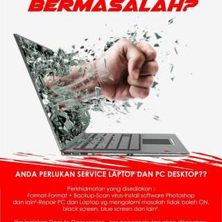 Service Laptop & PC