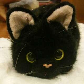 Black cat Sling bag free postage