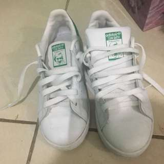 Adidas Stan Smith warna hijau putih (ori)