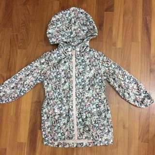 Girls H&M Raincoat Jacket