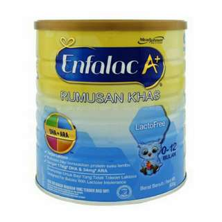 Enfalac A+ lacto free 900G