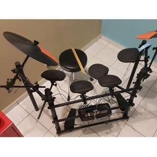 Electric Electronic Digital Drum Set