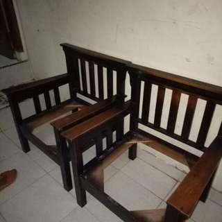 Sofa kayu, kursi kayu, kursi tamu