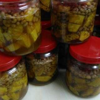 自製鳳梨醬(台語),不含運費