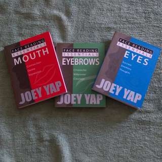 Brand New Face Reading Essential Books by Joey Yap