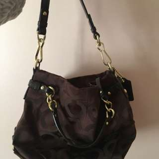 *REDUCED $40* Coach Brown Satchel
